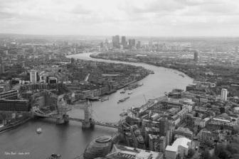 Londra_VistaDalloShardBW